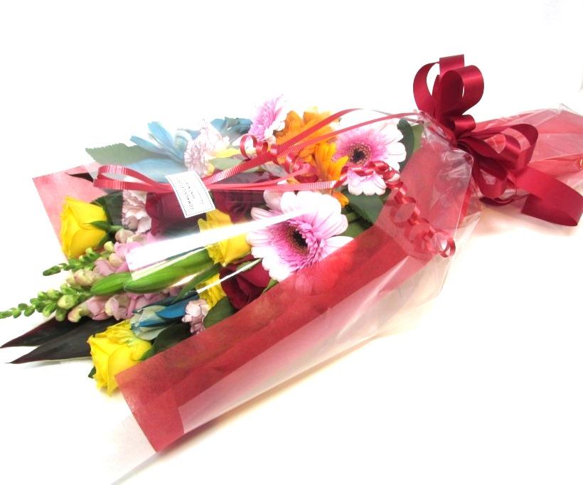 予算で選べる長い形の花束